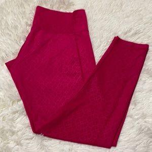 Adidas Hot Pink Leggings - Med